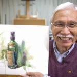 73歳シニア画家YouTuber柴崎さん、今月CNNテレビに出演し世界で話題!